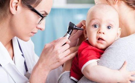گوش درد در نوزادان