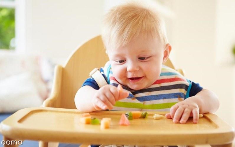 غذای کودک نه ماهه