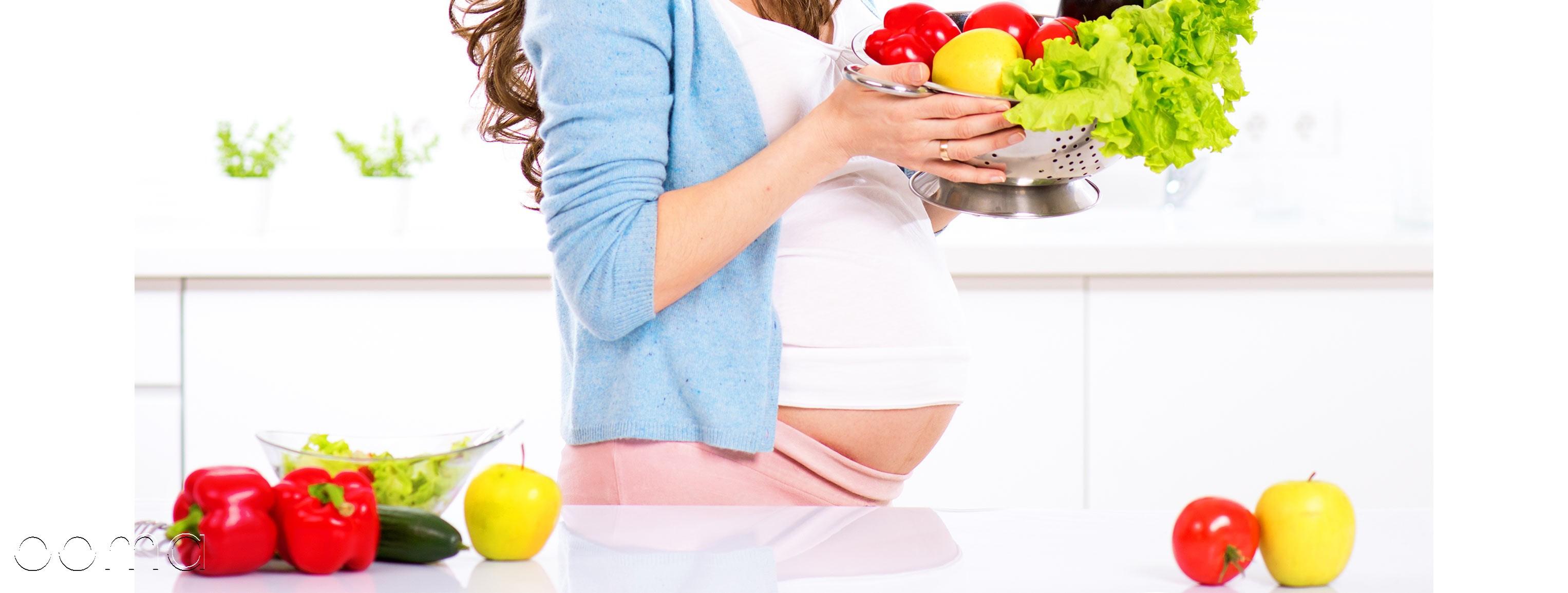 آیا  مادر باردارباید  بجای دونفر غذا بخورد؟
