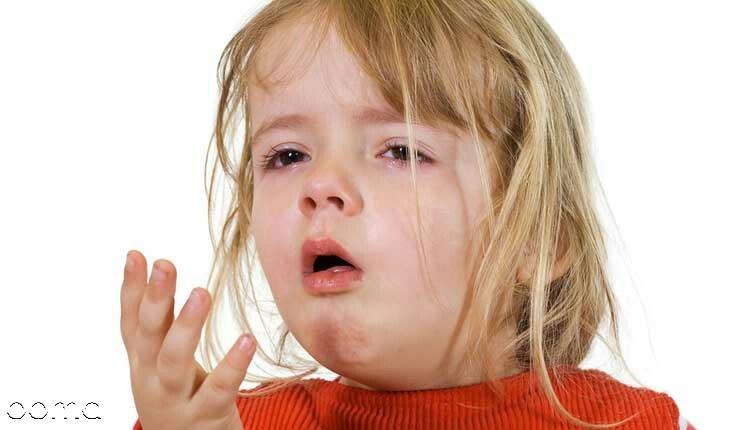 درمان سرفه شدید کودکان