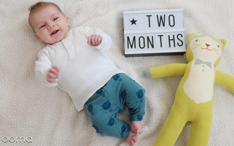 وزن نوزاد دو ماهه چقدر باید باشه؟