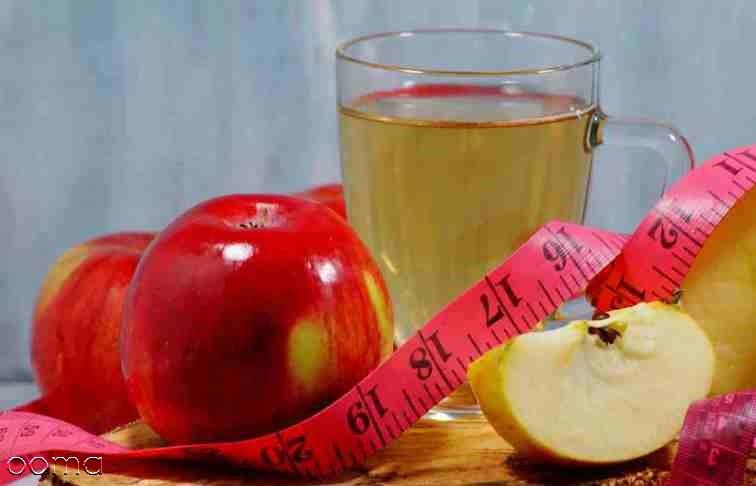 سرکه سیب و لاغری شکم: زمان و طریقه مصرف آن
