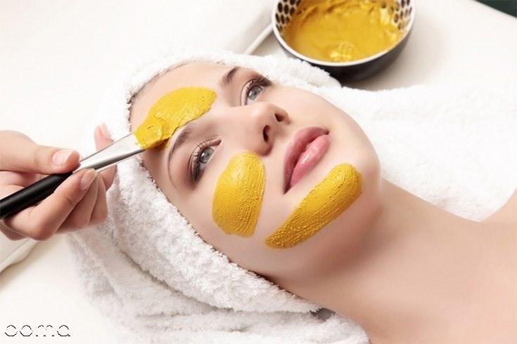 ماسک زردچوبه برای روشن شدن پوست