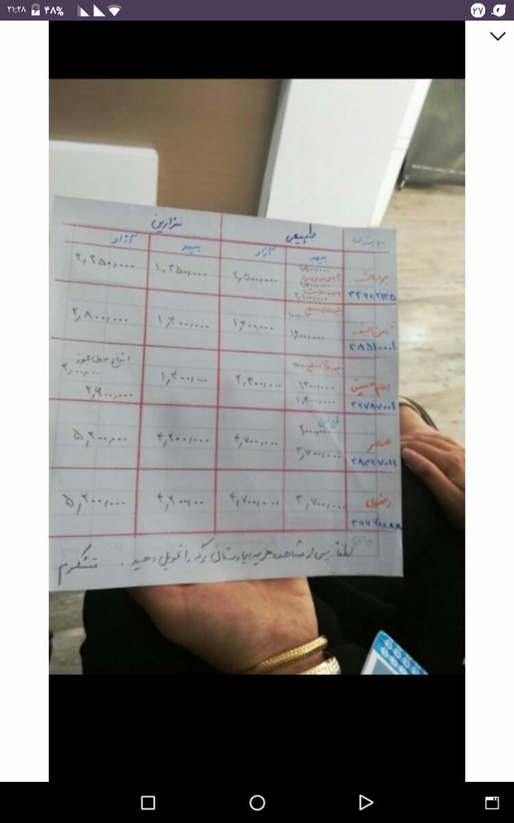 زایمان در بیمارستان مهر مشهد
