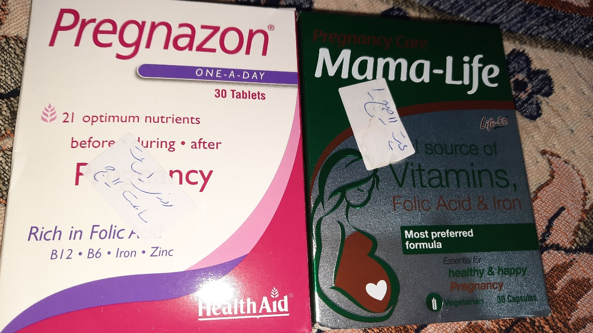 این دارو ها داد گفت باید ماما لیف تموم بشه بعد اون و شروع کنی